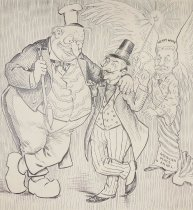 Image of Caricature portraits, while you wait - Bartholomew, Charles Lewis, 1869-1949